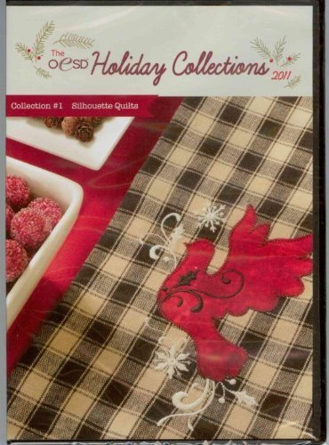 Oesd Designs Embroidery - OESD Holiday Collection 2011 Embroidery Designs CD #1