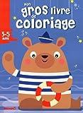 Mon gros livre de coloriage (Ours Marin)