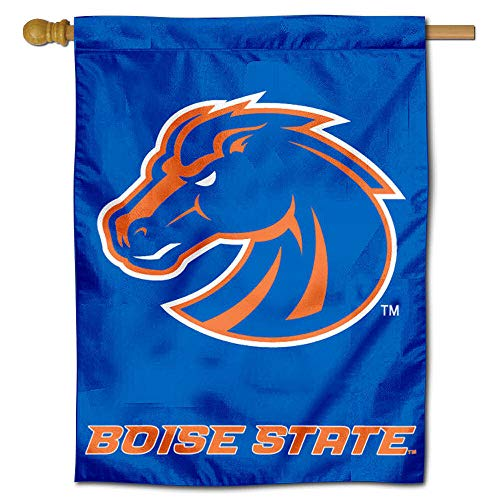 College Flags and Banners Co. Boise State University Broncos House Flag