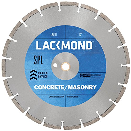 Series Walk Behind Concrete Saw (Lackmond SG14SPL12520 SPL Series Dry Cut Diamond Blade for Cured Concrete, 14-Inch by .125 by 20mm)