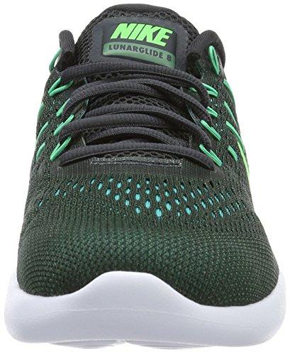 Nike Lunarglide 8, Zapatillas de Running para Hombre Gris (anthrazit/green Stone/schwarz/rage Green)