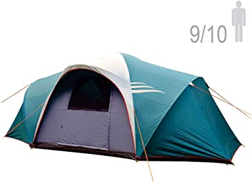 NTK LARAMI GT Tent up to 10 Persons, 12.8FT by 9.8FT by 6.9