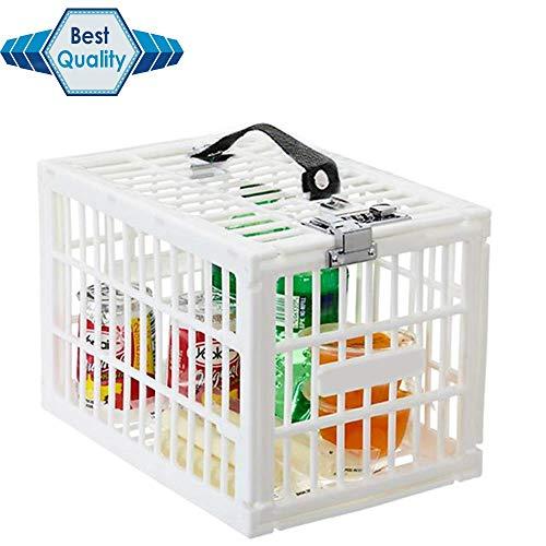 (Fridge Locker Refrigerator Box with 3 Digits Combination Lock -Secure Foods from Refrigerator Thieves)