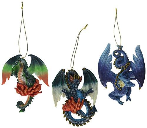 Design Toscano Three Dragons Talbooth