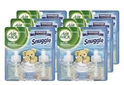 Air Wick 82291 Scented Oil Twin Refill, Snuggle Fresh Linen, 0.67 oz (Case of 6)
