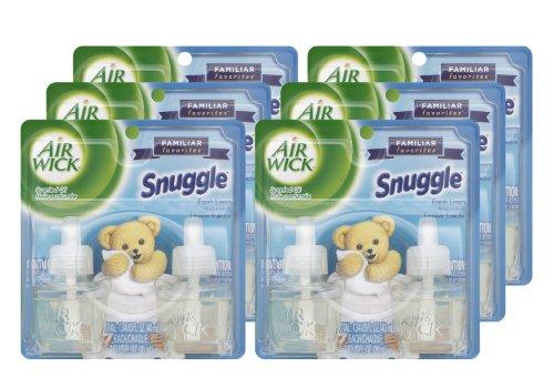 air-wick-82291-scented-oil-twin-refill-snuggle-fresh-linen-067-oz-case-of-6
