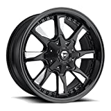 Fuel Hydro 20x9 Black Milled Wheel / Rim 5x4.5 & 5x5 with a 1mm Offset and a 78.1 Hub Bore. Partnumber D60320902650