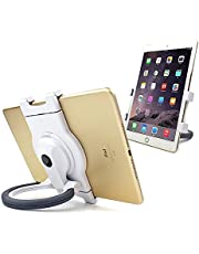 CareU Portable 360 Degree Rotating Adjustable Universal Tablet Stand for Kitchen, Bed, Car and Desk, Fits iPad, iPad Air, iPad Mini, Samsung Galaxy Tab and Most 7-10.1 Inch Tablets