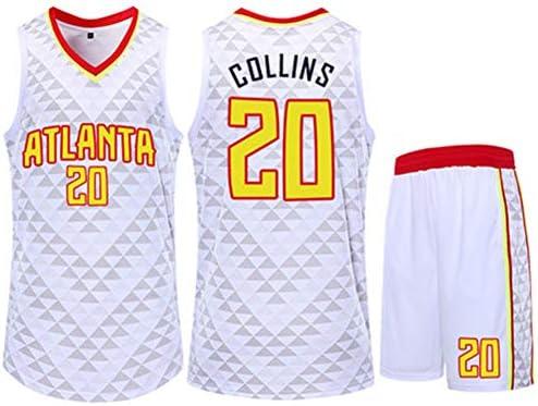 reputable site a1ade 8ac2f John Collins NBA Atlanta Hawks 20Th Basketball Jersey Short ...