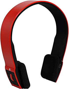 Amazon Com Xhn Ps4 Surround Sound Wireless Headset Bluetooth Headphones Over Ear With Hi Fi Sound Mic Deep Bass For Iphone Ipad Laptop Pc Tv Red Electronics