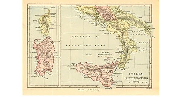 Amazon Com Roman Italy South Italia Meridionalis Sardo Sardinia