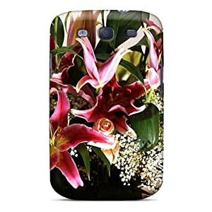 Waterdrop Snap-on Flower Bouquet Lilium In Bloom Case For Galaxy S3