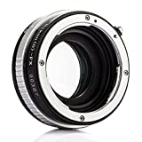 ZHONGYI Turbo II Focal Reduce Light Intensify Lens Adapter Mount on Nikon AI Ais D Lenses for Camera Fuji Pro1 X-E1 X-E2 X-M1 X-A2 X-A1 X-T1