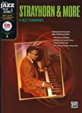 img - for Alfred Jazz Play-Along -- Strayhorn & More, Vol 1: C, B-flat, E-flat & Bass Clef Instruments, Book & CD (Alfred Jazz Play-Along Series) book / textbook / text book
