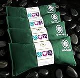 Namaste Yoga Lavender Eye Pillow - Green - Set of 4