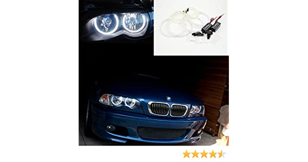 Unipower TMT Leds(TM) Kit CCFL Angel Eyes Compatible con BMW E46 ...