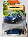 Matchbox 2019 MBX Road Trip Porsche Panamera 26/125, Blue