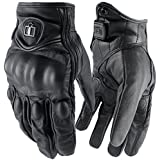 con Pursuit Stealth Non-Perforated Street Motorcyle Gloves Bike Gloves (Medium, Non-Perforated)