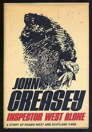 book cover of Inspector West Alone