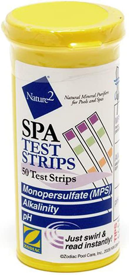 Zodiac Jandy W29300 Nature2 W29300 Monopersulfate Spa Test Strips