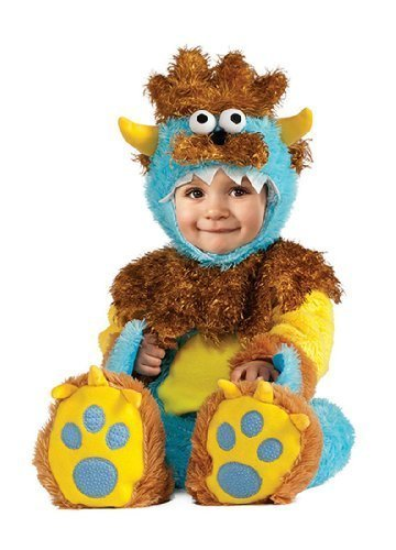 3-6 Months Halloween Costumes (Rubie's Costume Co Teeny Meany Costume, 0-6 Months)