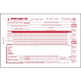 Canadian Driver's Daily Log Book, 2-Ply, w/Carbon, w/Detailed DVIR, w/Recap - Stock (Qty: 25 Units)