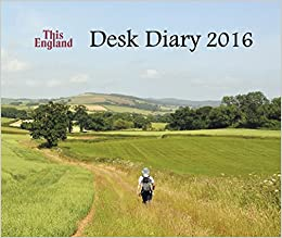 This England Desk Diary 2016