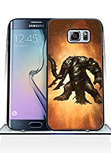 Cool Funda Case for Samsung Galaxy S6 Edge Plus Game God Of War Creative High Impact Cute Anti Dust Design Back Film Protector Skin (Not for S6 / S6 Edge)