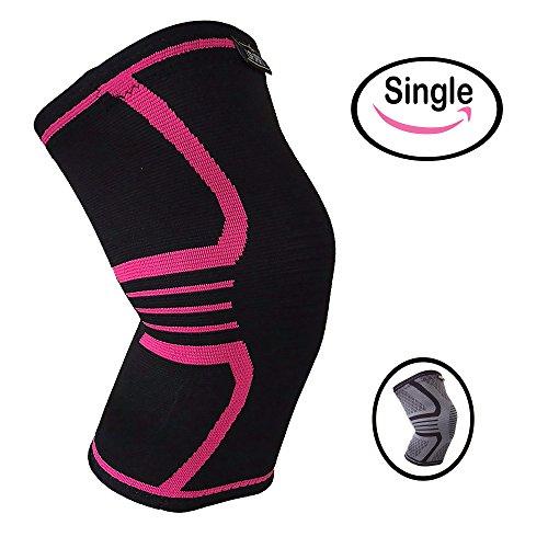 huge selection of 482dc ee28d Knee Support Brace for Men   Women by LSR- Knee Compression Sleeve for  Exercise,