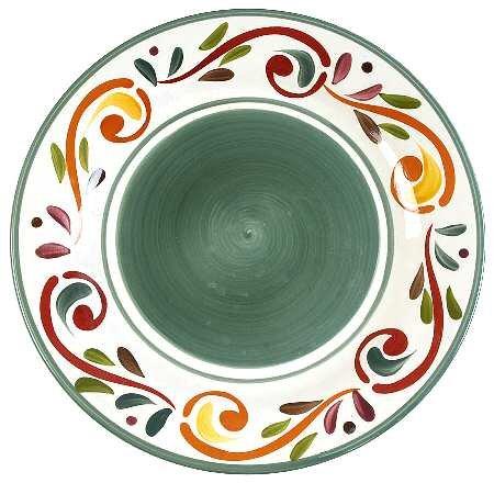 (Target HOME Villa Scroll dinner plate)