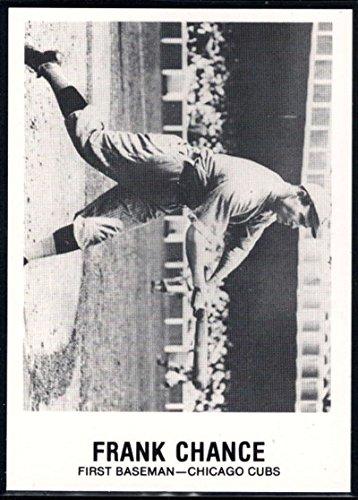 Baseball MLB 1977-84 Galasso Glossy Greats #161 Frank Chance Cubs