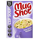 Mug Shot Cup Soup Thai Style Noodle (42g) - Pack of 6