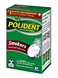 Polident Smokers Antibacterial Denture Cleanser