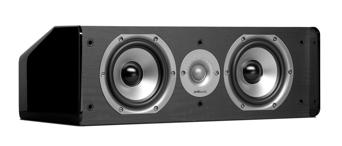 Parlante Central Polk Audio Cs10 Single Negro