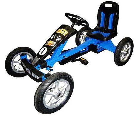 Amazon.com: Prime Karts Racer. 13P Racer Pedal kart44; negro ...