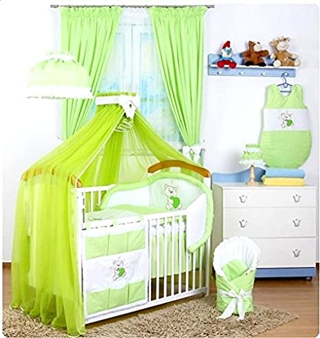 bb-camarade - Set 16 pcs ropa de cama de bebé: Tour de cama ...