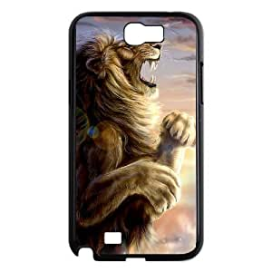 The King Lion TPU Case Skin for Samsung Galaxy Note2 N7100 Case Cover New Style