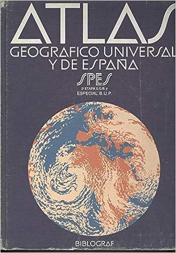 Atlas geografico universal y de larepublica del Ecuador spes: Amazon.es: Libros