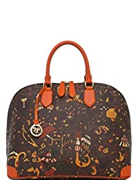 Handbag Piero Guidi Magic Circus Brown 21F094080