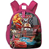 Baby Toddler Child Kid Cars Lightning McQueen Preschool Lunch Bag Pink