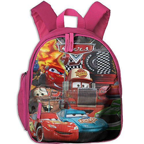 Baby Toddler Child Kid Cars Lightning McQueen Preschool Lunch Bag Pink by Fashion Theme Tshirt