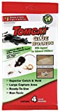Tomcat Glue Boards (Captures Mice and Other Household Pests, Eugenol Formula, 4-Pack)