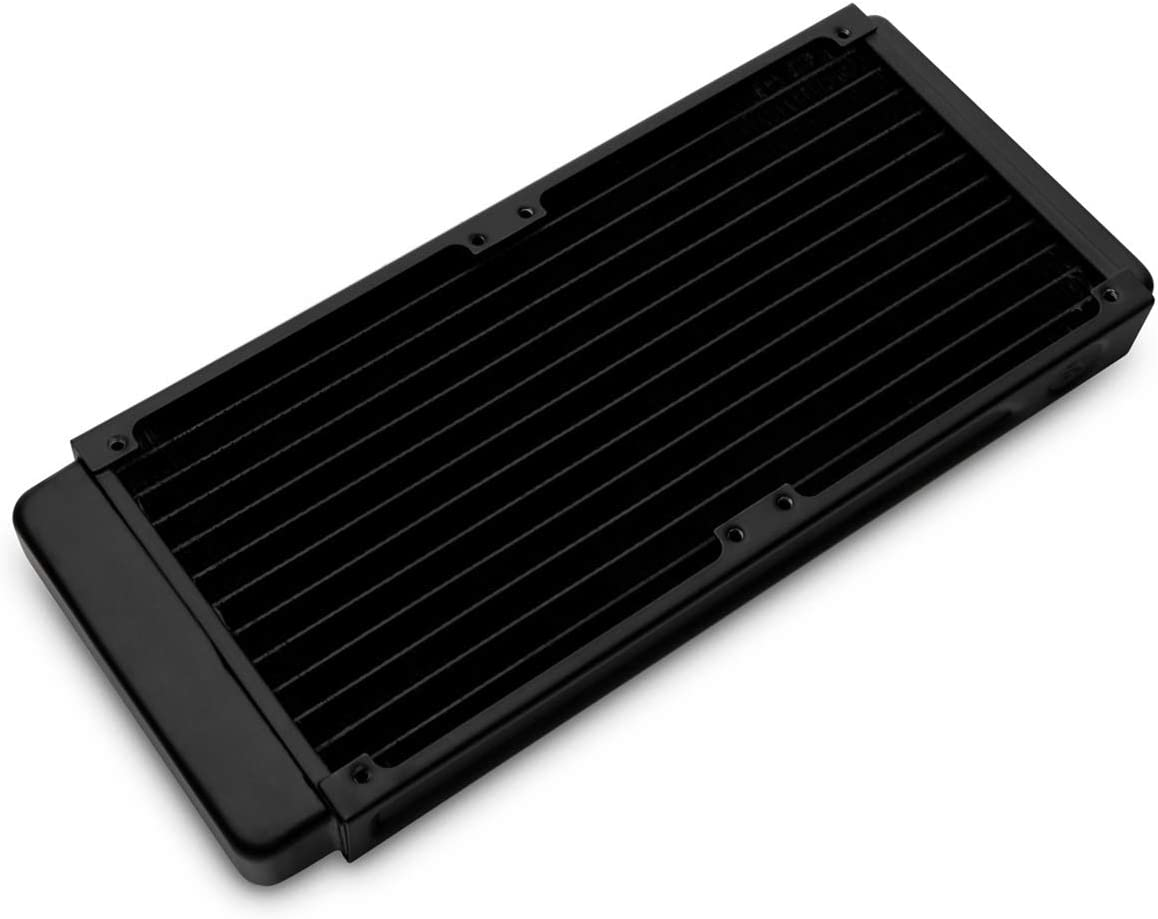 EKWB EK-CoolStream Classic SE 240 Slim Radiator Black Dual Fan