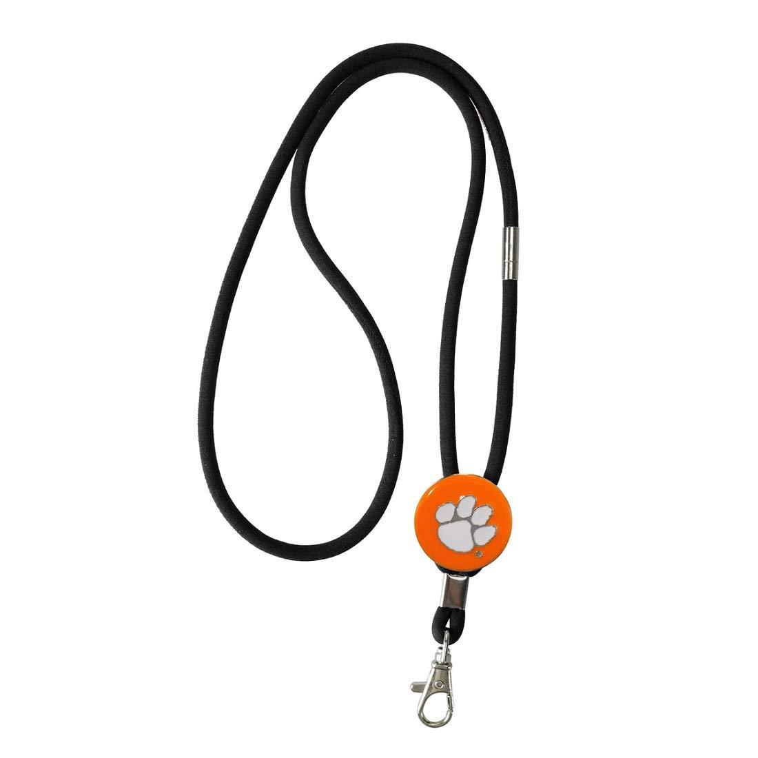 SANDOL Clemson Tigers Keychain//Badge Holder Lanyard