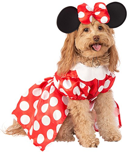 Rubie's Disney: Mickey Mouse & Friends Pet Costume, Minnie Mouse, X-Large
