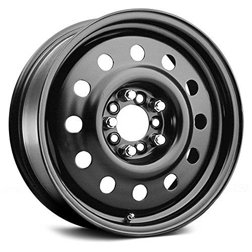 (Pacer Black Modular 17 Black Wheel / Rim 5x110 & 5x120 with a 38mm Offset and a 72 Hub Bore. Partnumber 83B-7713)