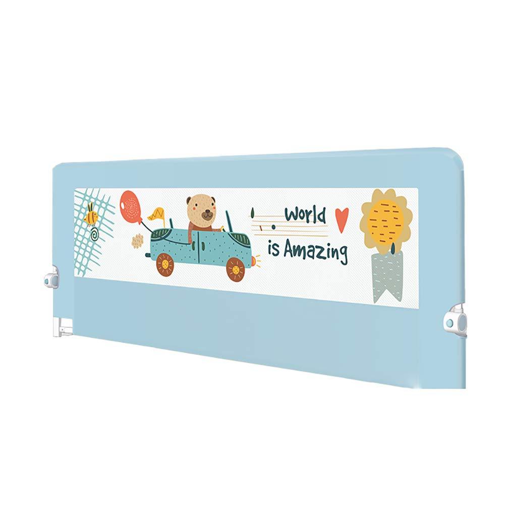 ベッドフェンス ベビーベッドレール子供幼児の安全ガードレールの組み立てが容易な超ワイドベッドガード (サイズ さいず : Length 150cm) Length 150cm  B07JKYG11L