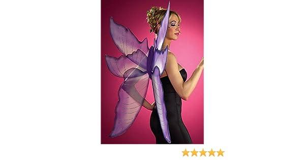 Struts Fancy Dress Alas de Hadas Grande Morado y Plata: Amazon.es: Juguetes y juegos
