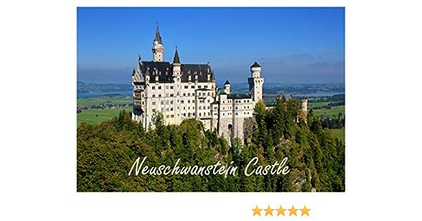 Travel Fridge Magnet Souvenir Motif: castle Neuhaus Magnetic Shield