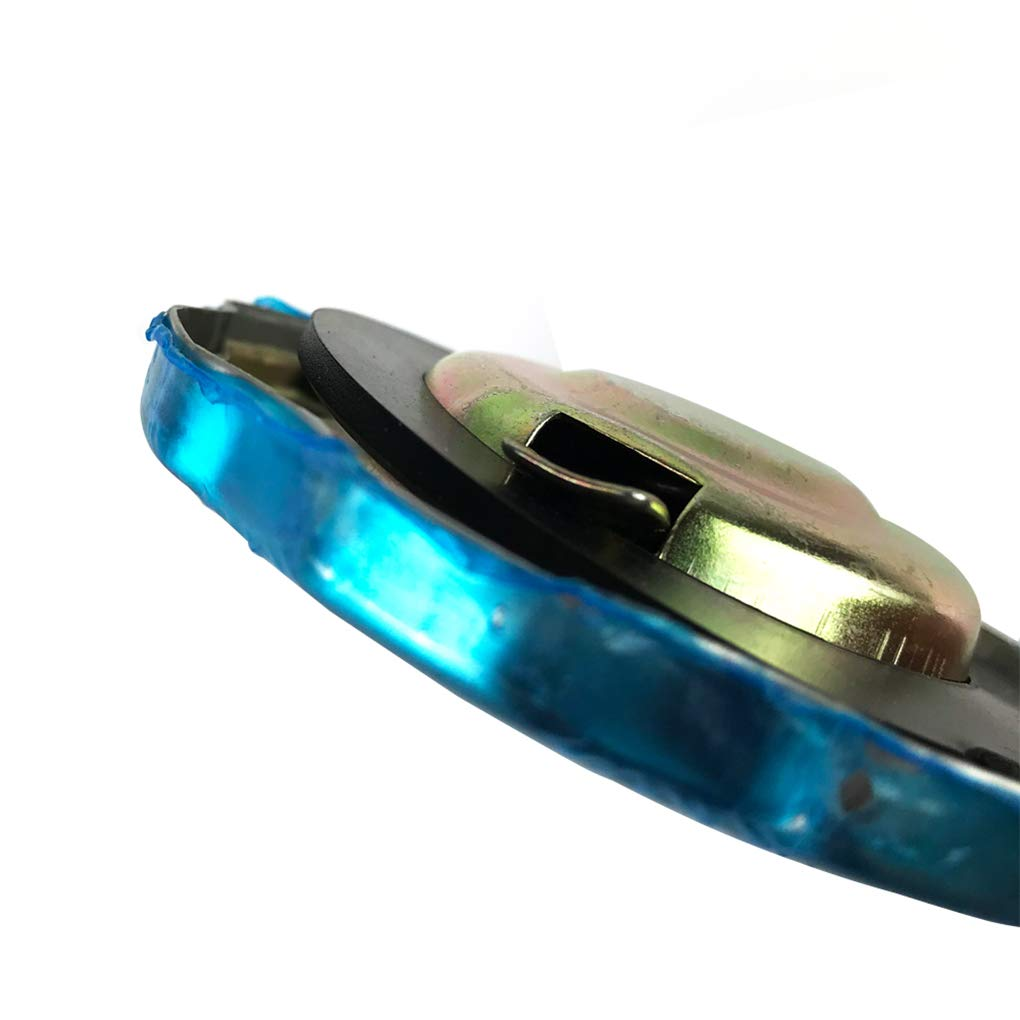 Bomcomi Reemplazo tap/ón del dep/ósito autom/ático Plateado Cromo del Coche para Honda GX GX160 GX200 GX240 GX270 GX340 GX390